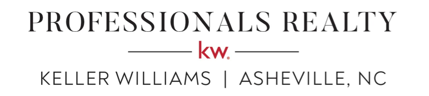 PROFESSIONALS REALTY | KELLER WILLIAMS | ASHEVILLE, NC